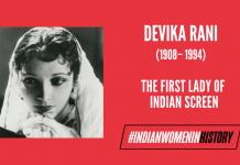 Devika Rani: The First Lady Of Indian Screen  #IndianWomenInHistory