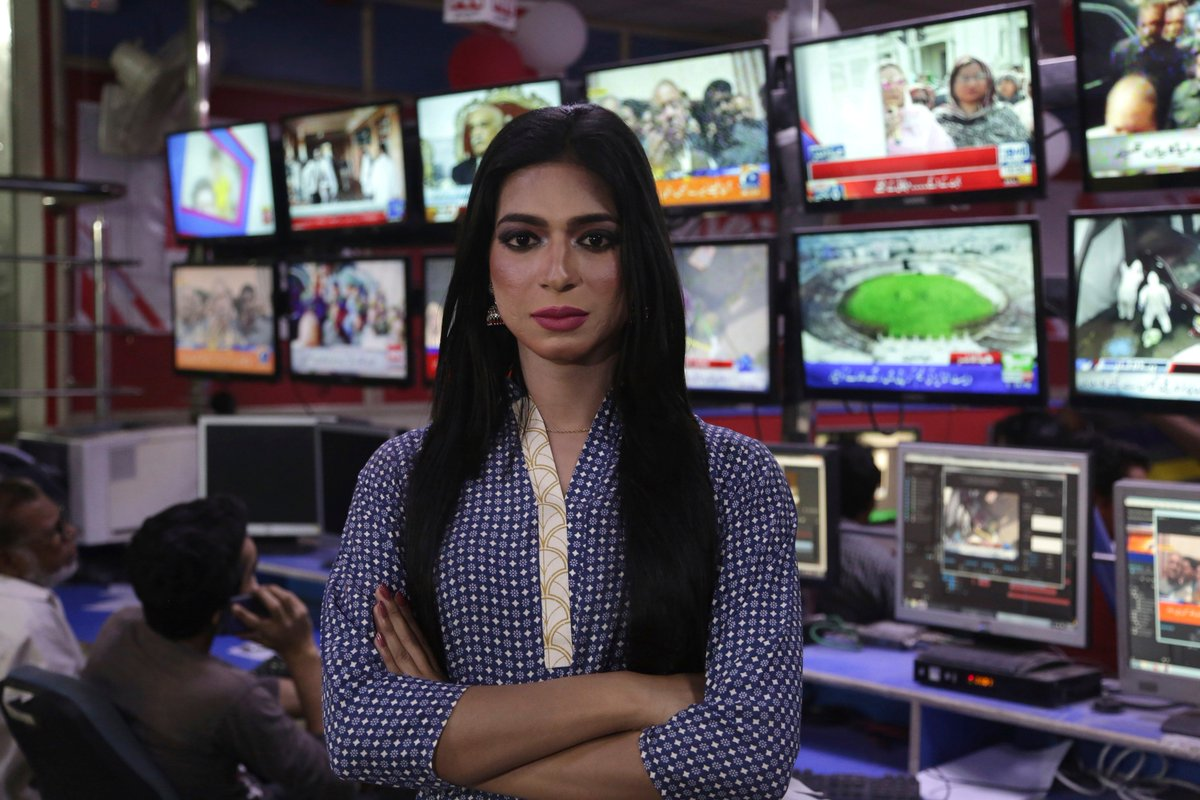 Meet Marvia Malik: The First Trans Woman News Reporter Of Pakistan