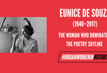 Eunice De Souza: The Woman Who Dominated The Poetry Skyline | #IndianWomenInHistory