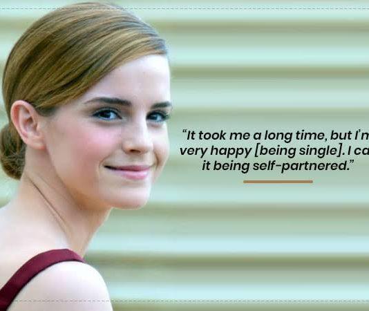 """I Call It Being Self-Partnered"": Emma Watson On Turning 30"