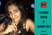 Meet Shivani Ekkanath – FII's Featured Writer Of January 2020