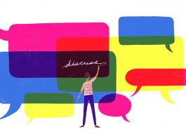 Infographic: Things To Be Mindful About In A Gender Sensitive Discussion Online