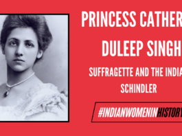 """Princess Catherine Duleep Singh: Suffragette And The """"Indian Schindler"""" 