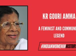 KR Gouri Amma: A Feminist and Communist Legend