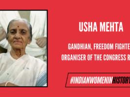 Usha Mehta: Freedom Fighter & Organiser Of Secret Radio Service To Disseminate News|#IndianWomenInHistory