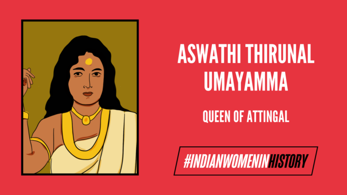 Rani Umayamma: The Fierce Queen Of Attingal  #IndianWomenInHistory