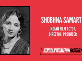 Shobhna Samarth: Actor, Director & Producer Who Carved Her Own Legacy In Cinema  #IndianWomenInHistory